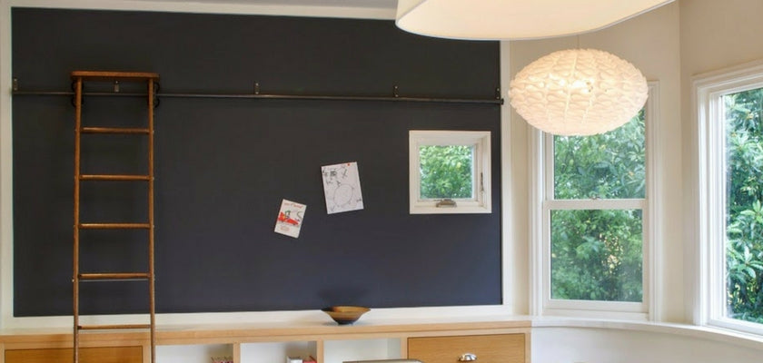 How to Create a Magnetic Chalkboard Wall