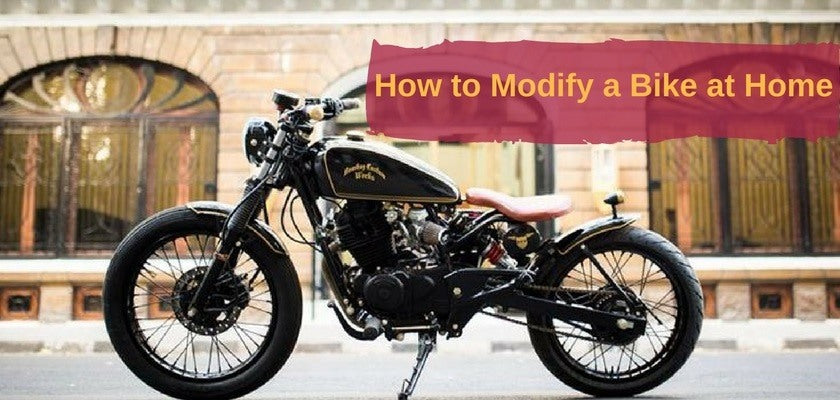 5 Ways to Modify a Bike at Home