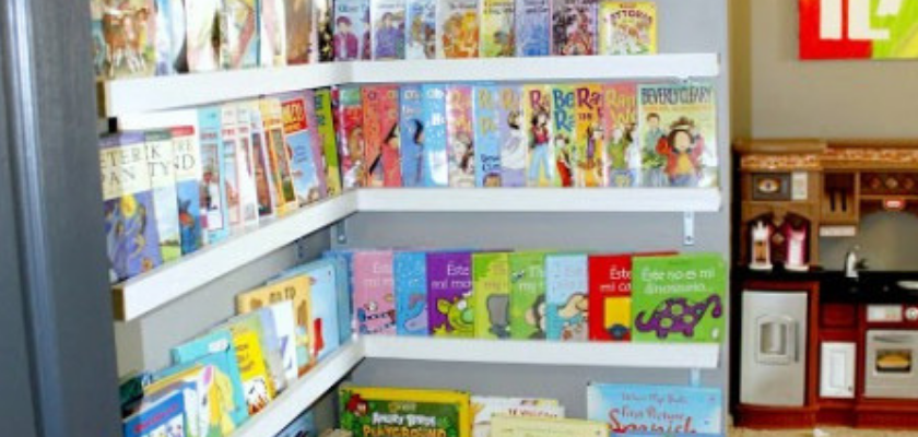 Go for Organized Playroom Library