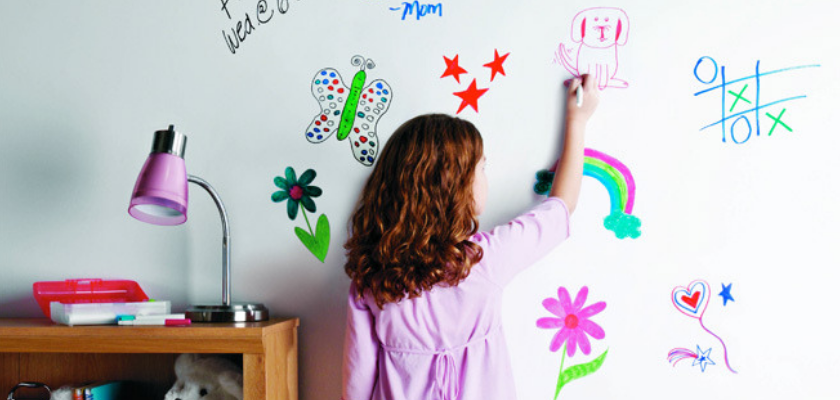 Make a Dry Erase Wall Instead of Using Whiteboard