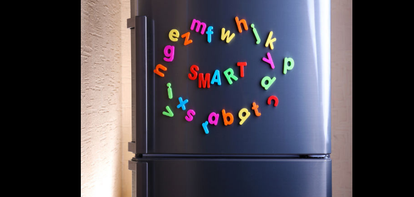 Makeover with Dough Fridge Magnets