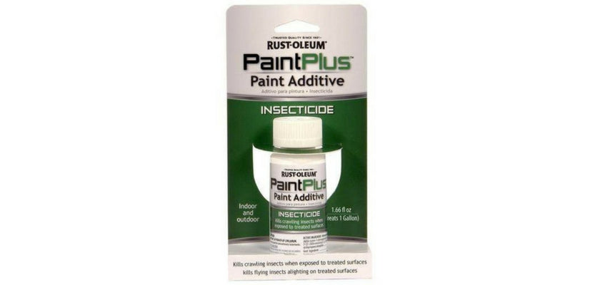 Paint Exterior Wall with Insecticide Paint