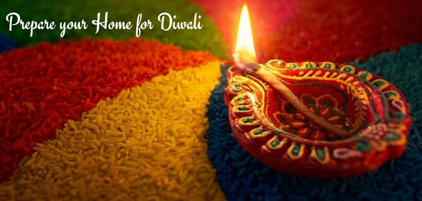 Prepare Home for Diwali