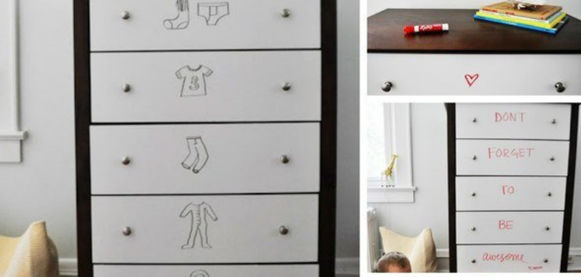 Re-invent Drawers with Write and Erase