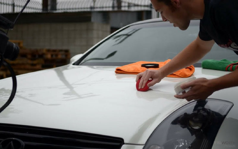 Removing Stains From Car