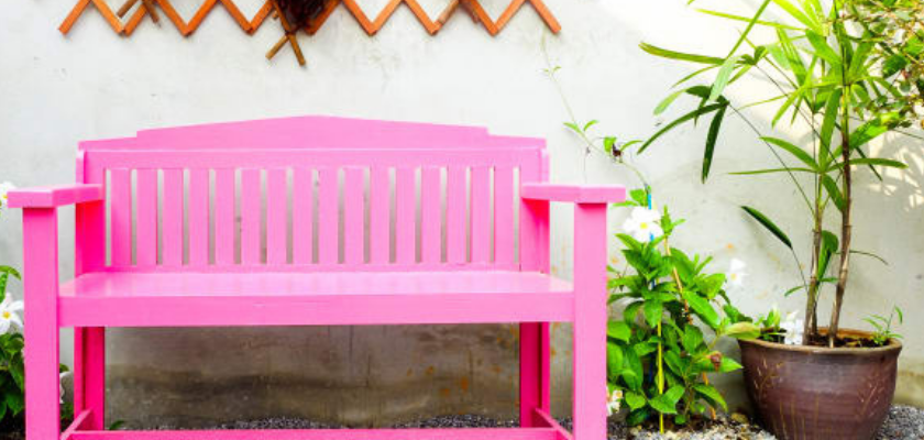 Renovate Furniture with Spray Paint or Wood Stain