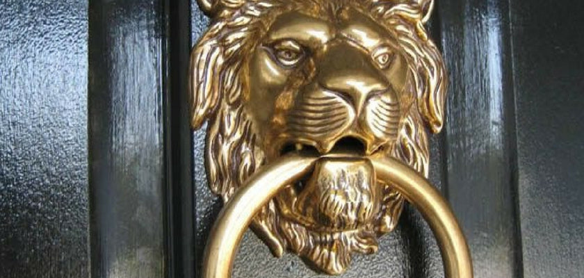 add stylish door knocker