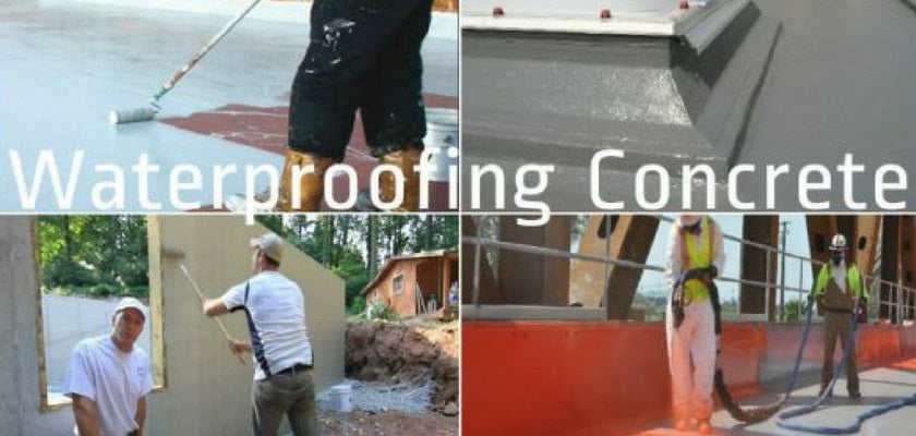 How to do Waterproofing for Concrete Surfaces