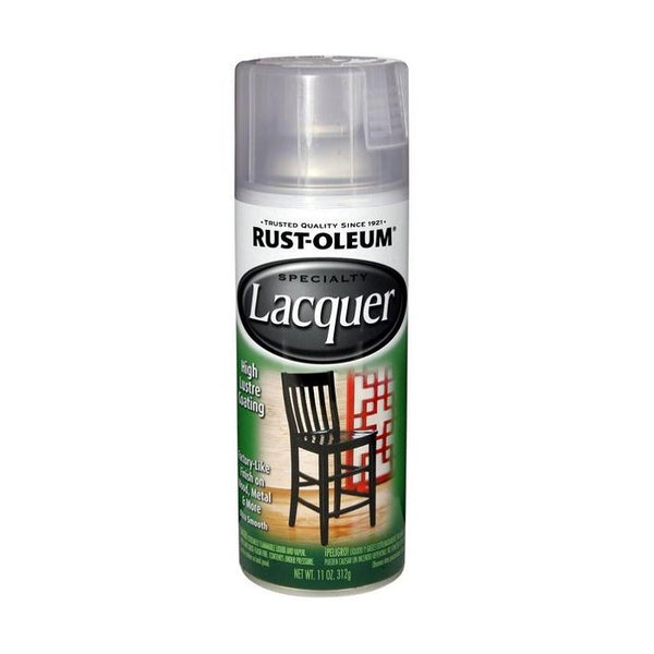 Rust-Oleum Specialty Lacquer Spray Paint - Gloss Clear Coat Spray Paint