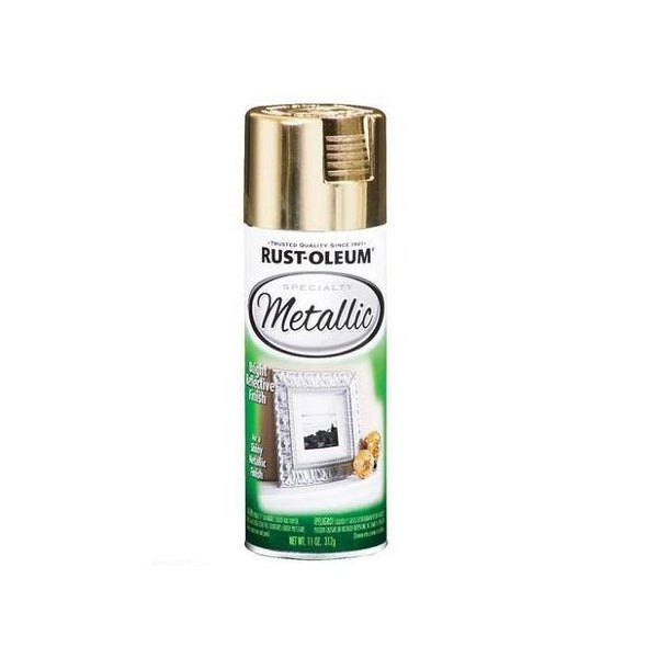 Rustoleum Specialty Metallic - Gold - Silver Spray Paint