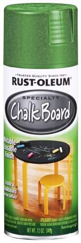 Rust-Oleum Chalkboard Spray Paint | Green & Blackboard Spray Paint