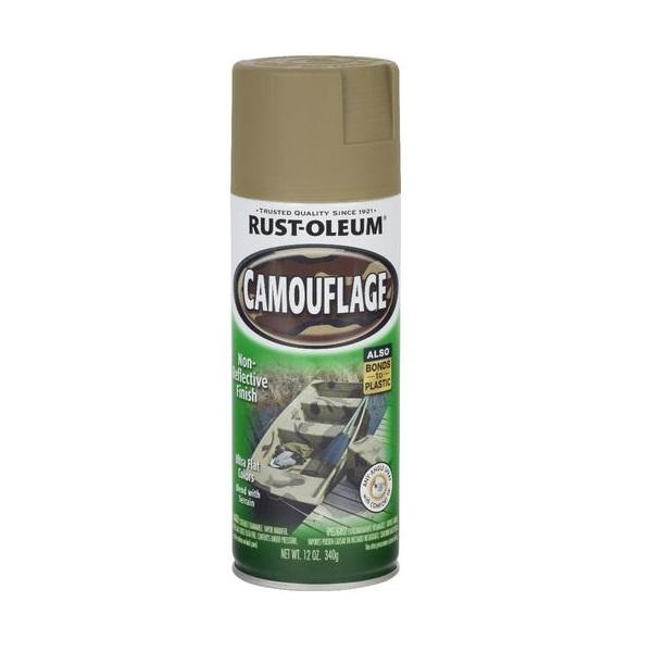 Rust-Oleum Specialty Camouflage Spray Paint - Black - 312 Grams