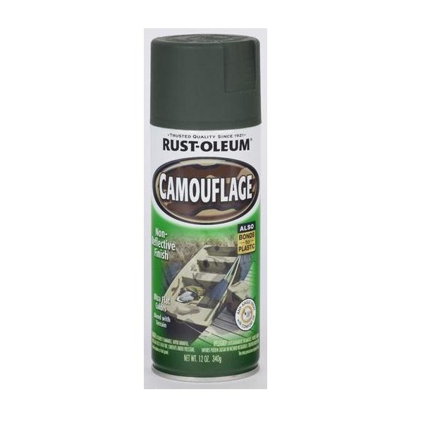 Rust-Oleum Specialty Camouflage Spray Paint - Earth Brown - 312 Grams