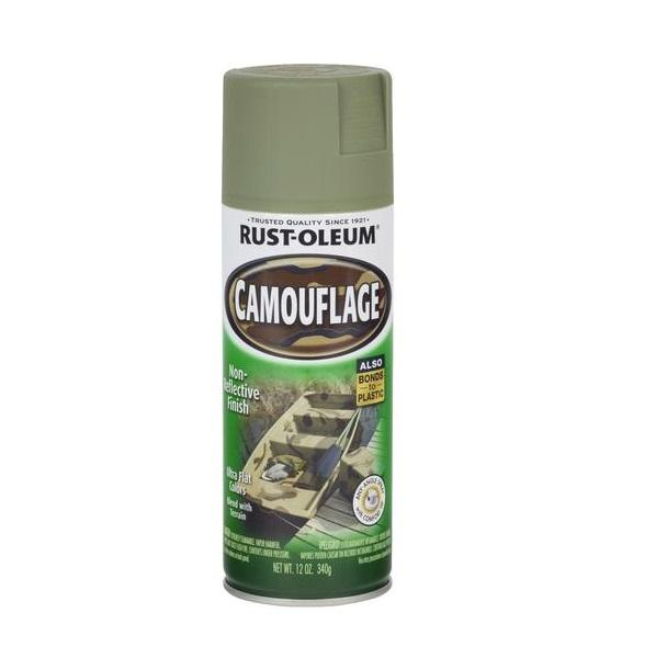 Rust-Oleum Specialty Camouflage Spray Paint - Deep Forest Green - 312 Grams