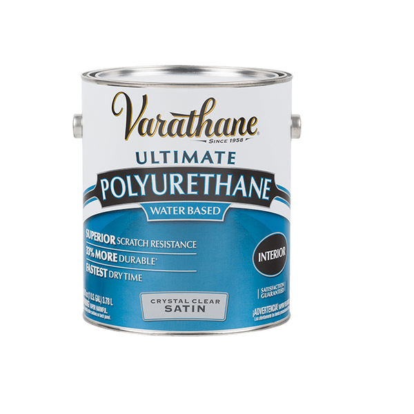 Varathane Crystal Clear Water Based Polyurethane for Interior