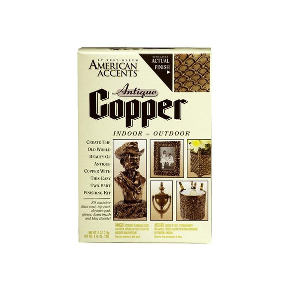 Rust-Oleum American Accents Antique Copper Spray Kit
