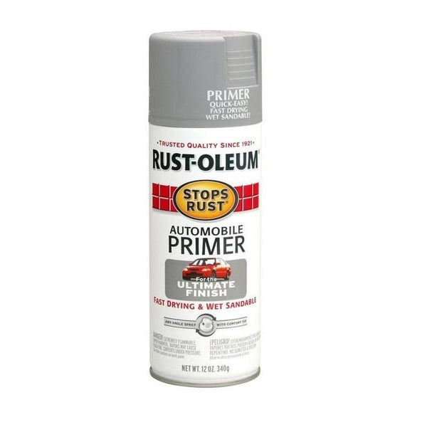 Rust-Oleum Stops Rust Automotive Primer Spray Paint - Flat Red - 340 Grams