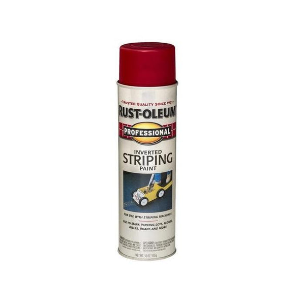 Rust-Oleum Professional Striping Spray Paint - Yellow - 510 Grams