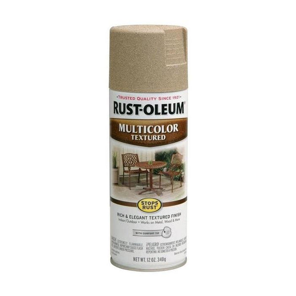 Rust-Oleum Stops Rust Multi-Textured Spray Paint - Autumn Brown - 340 Grams
