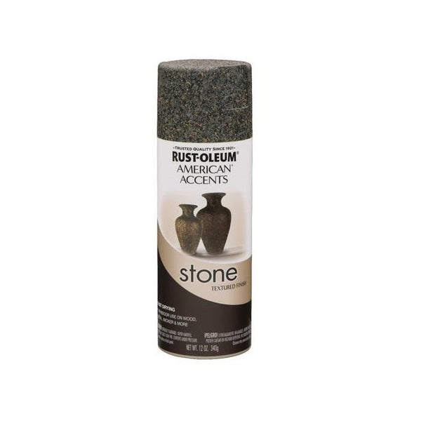 Rust-Oleum American Accents Stone Textured Spray Paint - Tuscan Rock - 340 Grams
