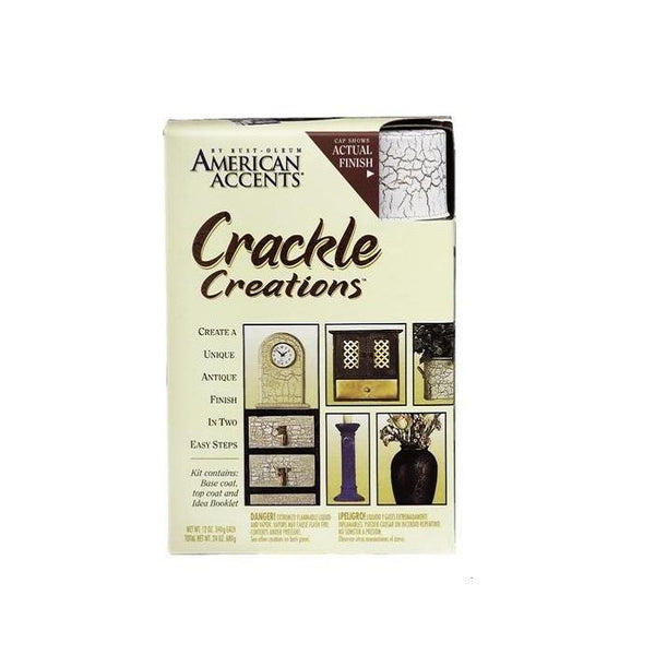 Rust-Oleum American Accents Crackle Spray Paint Kit - Williamsburg Black