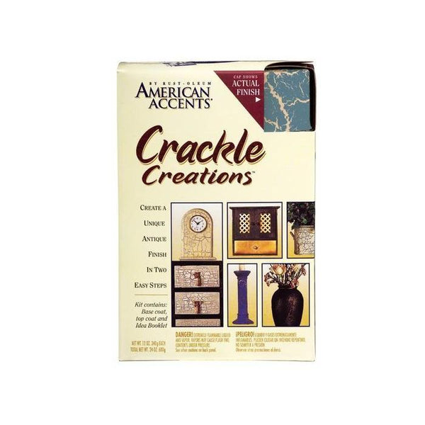 Rust-Oleum American Accents Crackle Spray Paint Kit - Barn Red