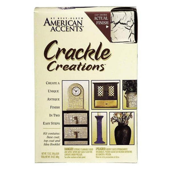 Rust-Oleum American Accents Crackle Spray Paint Kit - Nantucket Blue