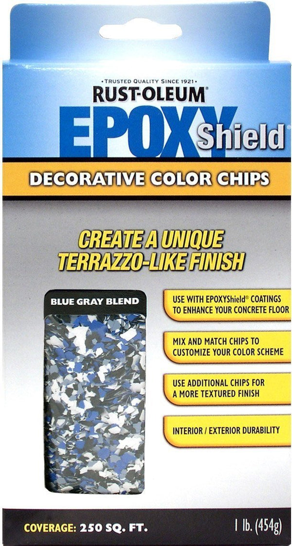 Rust-Oleum Epoxyshield Decorative Color Chips for Garage Floor Coating