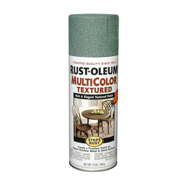Rust-Oleum Stops Rust Multi-Textured Spray Paint - Deep Forest - 340 Grams