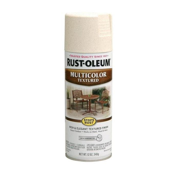 Rust-Oleum Stops Rust Multi-Textured Spray Paint - Radient Brass- 340 Grams