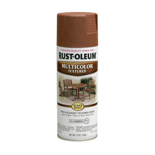 Rust-Oleum Stops Rust Multi-Textured Spray Paint - Caribbean Sand- 340 Grams