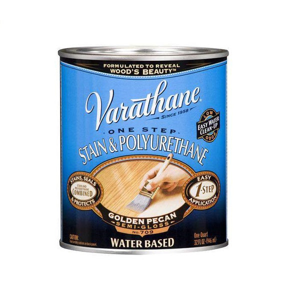 Varathane One Step Stain and Polyurethane - Water-Based