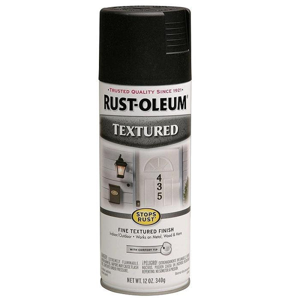 Rust-Oleum Stops Rust Textured Spray Paint - Dark Brown - 340 Grams