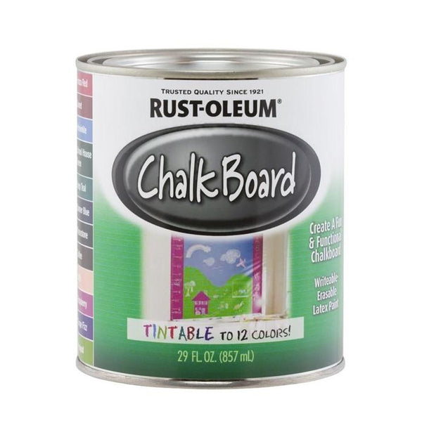 Rust-Oleum Specialty Tintable Chalkboard Paint - Blackboard Paint
