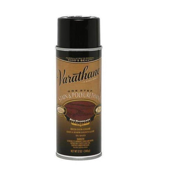 Rust-Oleum Varathane One Step Stain & Polyurethane Spray - Oil Based