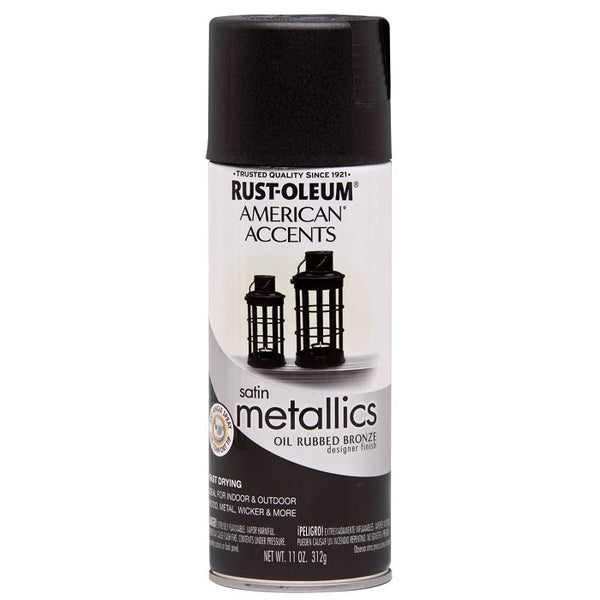 Rust-Oleum American Accents Designer Metallic Spray Paint