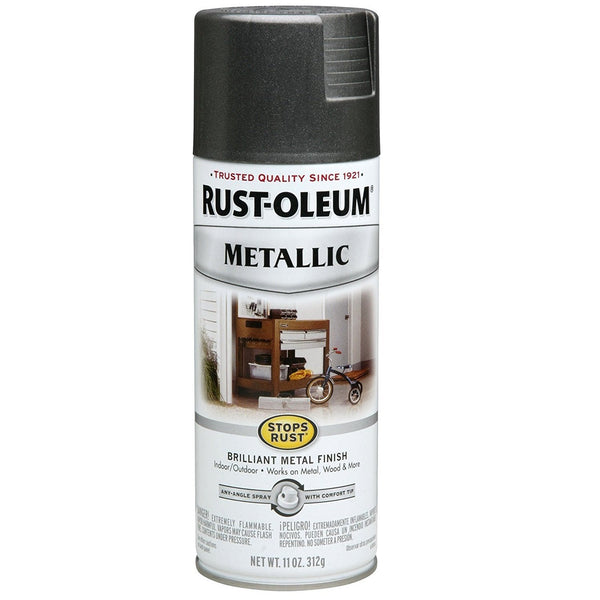 Rust-Oleum Stops Rust Metallic Aerosol Spray Paint - Rich Caramel - 312 Grams