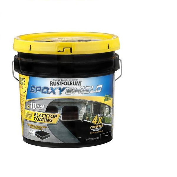 Rust-Oleum Epoxyshield Blacktop Coating - Jet Black