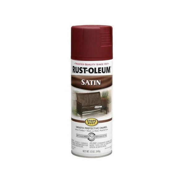 Rust-Oleum Stops Rust Satin Enamel Spray Paint - French Beige - 340 Grams