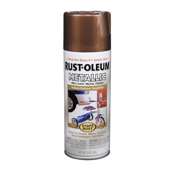 Rust-Oleum Stops Rust Metallic Aerosol Spray Paint