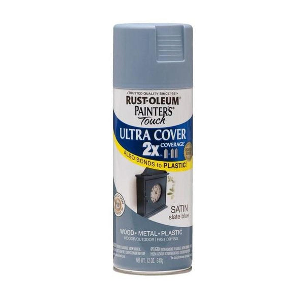Painters Touch Acrylic Spray Paint for Plastic, Wood, And Metal - Satin Strawflower - 340 Grams