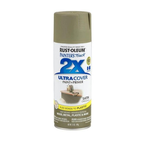 Painters Touch Acrylic Spray Paint for Plastic, Wood, And Metal - Satin Paprika - 340 Grams