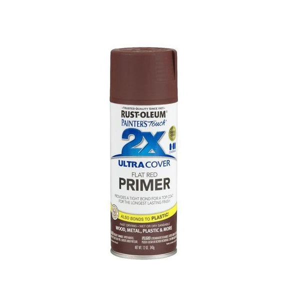 Rust-Oleum Painters Touch Acrylic Primer Spray For Multi-Purposes - Flat White