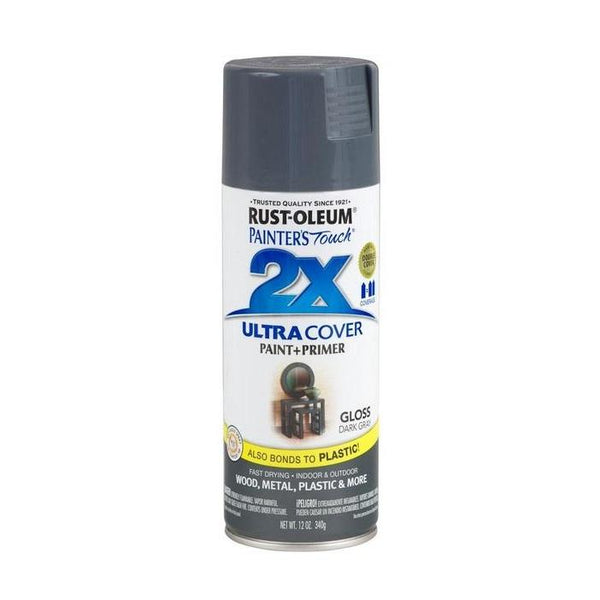 Painters Touch Acrylic Spray Paint for Plastic, Wood, And Metal - Gloss Deep Blue - 340 Grams