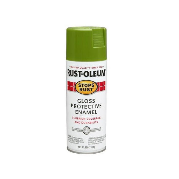 Rust-Oleum Stops Rust Enamel Touch Up Spray Paint - Gloss Lobster Red - 340 Grams