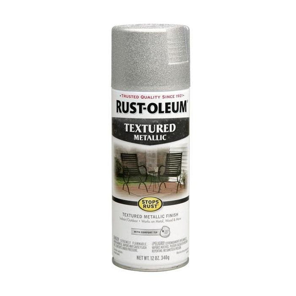 Rust-Oleum Stops Rust Multi-Textured Spray Paint - Rustic Umber - 340 Grams