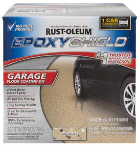 Rust-Oleum Epoxy Shield Garage Floor Coating Kit - Tan