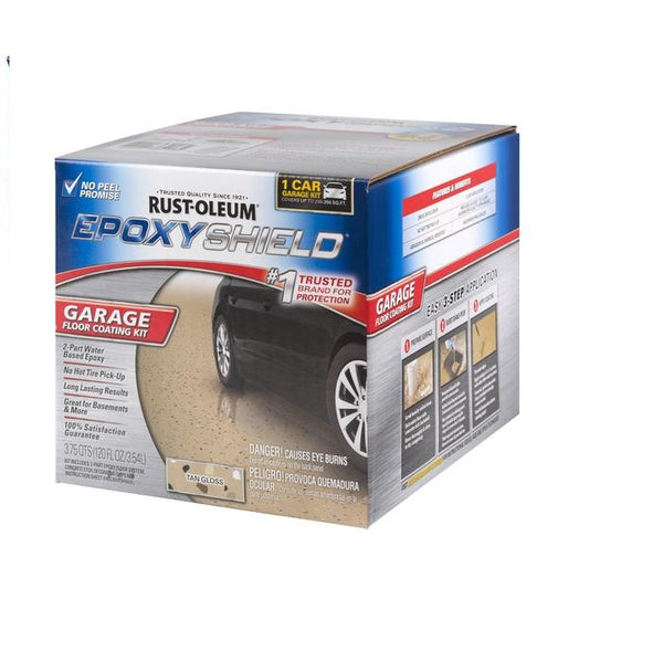 Rust-Oleum Epoxy Shield Garage Floor Coating Kit