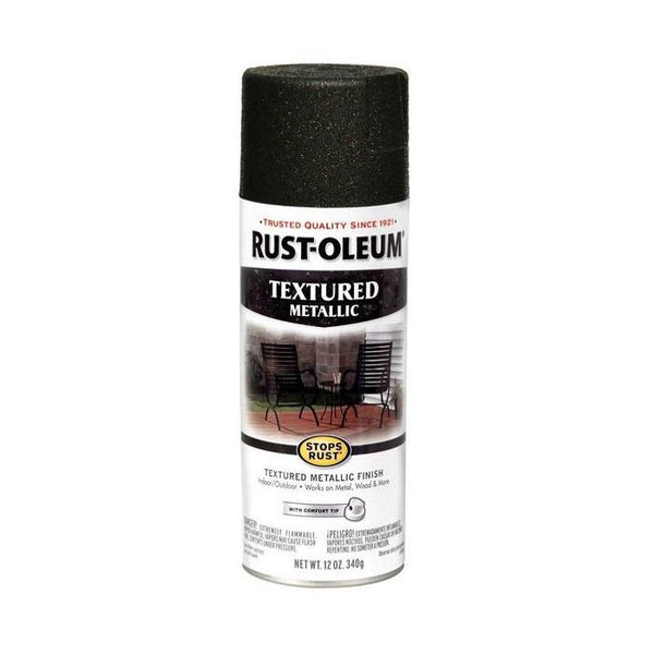 Rust-Oleum Stops Rust Textured Metallic Spray Paint - Galaxy - 340 Grams