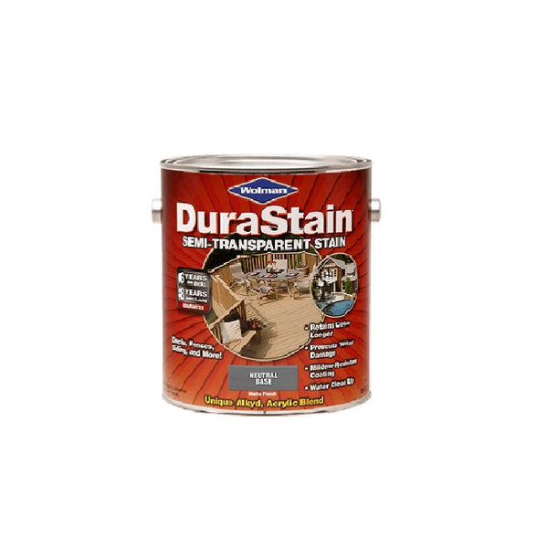 Rust-Oleum Wolman Durastain Low VOC Semi-Transparent Natural Base Stain